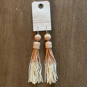 New Anthropologie tassel earrings